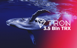 3.5 Bln TRX Wired by Tron Foundation and Crypto Whales in One Hour