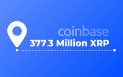 377.3 Million XRP Moved by Coinbase as Coin Showed Brief Signs of Recovery