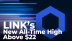 New LINK All-Time High Above $22 Pushes Number of New Addresses to Major High