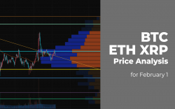 BTC, ETH and XRP Price Analysis for February 1