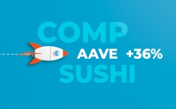 Aave Protocol (AAVE) Adds 36% in 24 Hours, Compound (COMP) and SushiSwap (SUSHI) Follow: Studiying the Reasons for the Pump