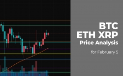 BTC, ETH and XRP Price Analysis for February 5