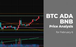 BTC, ADA and BNB Price Analysis for February 6