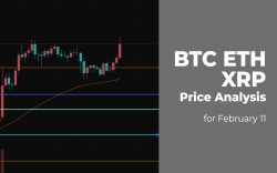 BTC, ETH and XRP Price Analysis for February 11