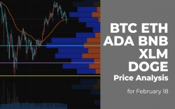 BTC, ETH, ADA, BNB, XLM and DOGE Price Analysis for February 18