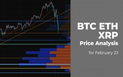 BTC, ETH and XRP Price Analysis for February 23