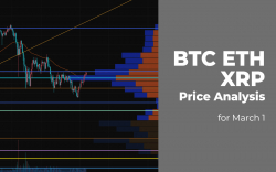 BTC, ETH and XRP Price Analysis for March 1