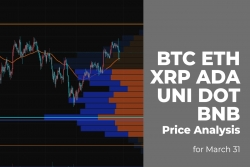 BTC, ETH, XRP, ADA, UNI, DOT and BNB Price Analysis for March 31