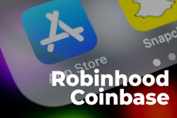 Robinhood and Coinbase Surpass TikTok, YouTube and Instagram on Apple's U.S. App Store