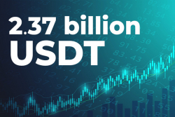 Whales Grab Bitcoin Dip as 2.37 Billion USDT Deposited to Exchanges on Friday