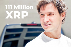 Jed McCaleb Moves 111 Million XRP in the Last Week, Receives 442 Million from Ripple