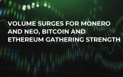Volume Surges for Monero and NEO, Bitcoin and Ethereum Gathering Strength