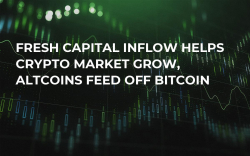 Fresh Capital Inflow Helps Crypto Market Grow, Altcoins Feed Off Bitcoin