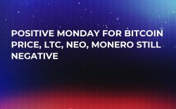 Positive Monday For Bitcoin Price, LTC, NEO, Monero Still Negative