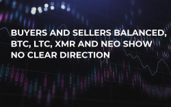 Buyers and Sellers Balanced, BTC, LTC, XMR and NEO Show No Clear Direction