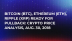 Bitcoin (BTC), Ethereum (ETH), Ripple (XRP) Ready For Pullback: Crypto Price Analysis, Aug. 30, 2018