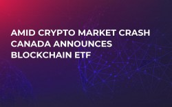 Amid Crypto Market Crash Canada Announces Blockchain ETF