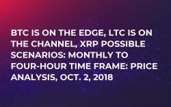 BTC Is On the Edge, LTC Is On the Channel, XRP Possible Scenarios: Monthly to Four-Hour Time Frame: Price Analysis, Oct. 2, 2018