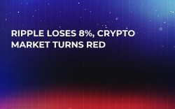 Ripple Loses 8%, Crypto Market Turns Red