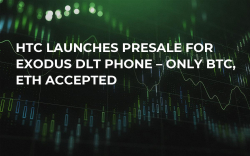 HTC Launches Presale for Exodus DLT Phone – Only BTC, ETH Accepted