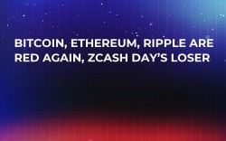 Bitcoin, Ethereum, Ripple Are Red Again, Zcash Day's Loser