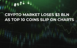 Crypto Market Loses $3 Bln as Top 10 Coins Slip On Charts
