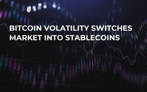 Bitcoin Volatility Switches Market Into Stablecoins