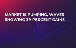 Market Is Pumping, Waves Showing 39-Percent Gains