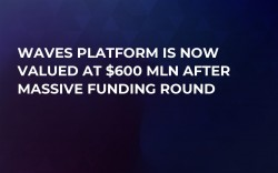 Waves Platform Is Now Valued at $600 Mln After Massive Funding Round