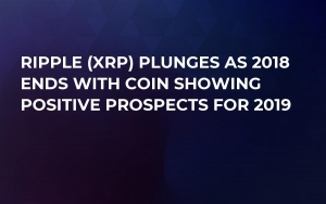Ripple (XRP) Plunges as 2018 Ends with Coin Showing Positive Prospects for 2019