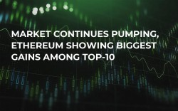 Market Continues Pumping, Ethereum Showing Biggest Gains Among Top-10