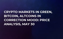 Crypto Markets in Green, Bitcoin, Altcoins in Correction Mood: Price Analysis, May 30