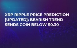 XRP Ripple Price Prediction [Updated]: Bearish Trend Sends Coin below $0.30