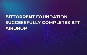 BitTorrent Foundation Successfully Completes BTT Airdrop