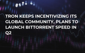 Tron Keeps Incentivizing Its Global Community, Plans to Launch BitTorrent Speed in Q2