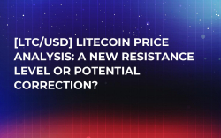 [LTC/USD] Litecoin Price Analysis: A new Resistance Level or Potential Correction?