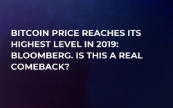 Bitcoin Price Reaches Its Highest Level in 2019: Bloomberg. Is This a Real Comeback?