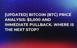 [UPDATED] Bitcoin (BTC) Price Analysis: $5,000 and Immediate Pullback. Where Is the Next Stop?