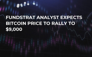 Fundstrat Analyst Expects Bitcoin Price to Rally to $9,000