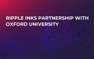 Ripple Inks Partnership with Oxford University