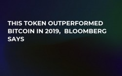 This Token Outperformed Bitcoin in 2019,  Bloomberg Says
