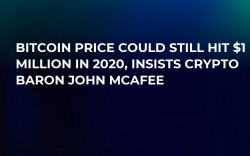 Bitcoin Price Could Still Hit $1 Million in 2020, Insists Crypto Baron John McAfee