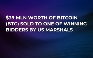 $39 Mln Worth of Bitcoin (BTC) Sold to One of Winning Bidders by US Marshals