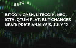 Bitcoin Cash, Litecoin, Neo, IOTA, QTUM Flat, But Changes Near: Price Analysis, July 12