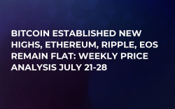 Bitcoin Established New Highs, Ethereum, Ripple, EOS Remain Flat: Weekly Price Analysis July 21-28