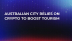 Australian City Relies on Crypto to Boost Tourism