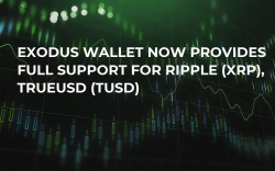 Exodus Wallet Now Provides Full Support for Ripple (XRP), TrueUSD (TUSD)