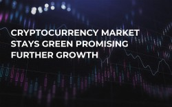 Cryptocurrency Market Stays Green Promising Further Growth