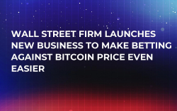 Wall Street Firm Launches New Business to Make Betting Against Bitcoin Price Even Easier