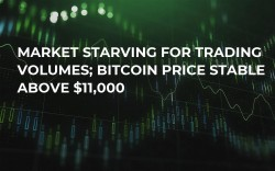 Market Starving for Trading Volumes; Bitcoin Price Stable Above $11,000